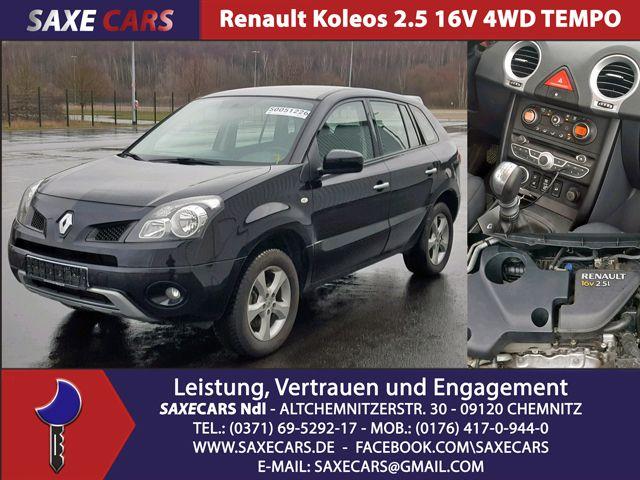 Renault Koleos 2.5 16V Allrad/ Tempomat/Klima / neu Batterie